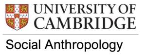 University of Cambridge Social Anthropology Logo